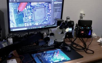 Ook voor microsoldeerwerk kun je bij ons terecht!